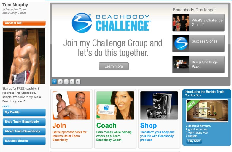 Team Beachbody Coach Tom Murphy | FoxboroFitClub.net