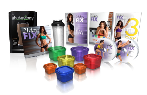 21 Day Fix<br>Challenge<br>Pack