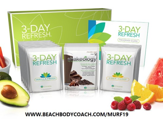 3-Day Refresh Savings in March