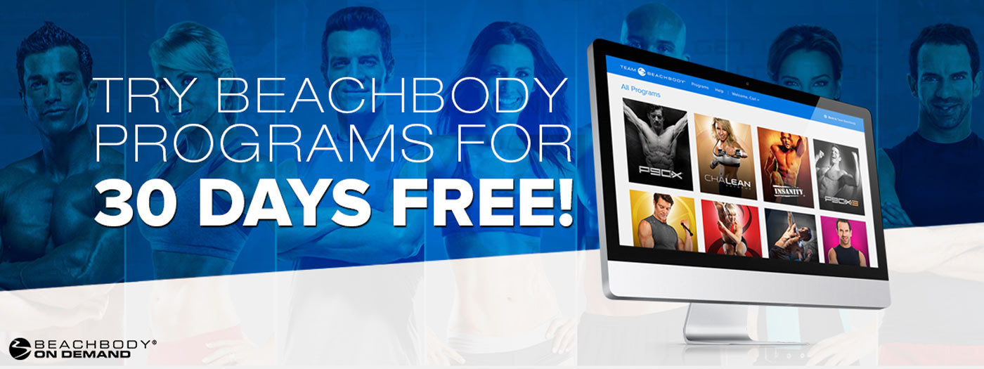 Available on Beachbody on Demand